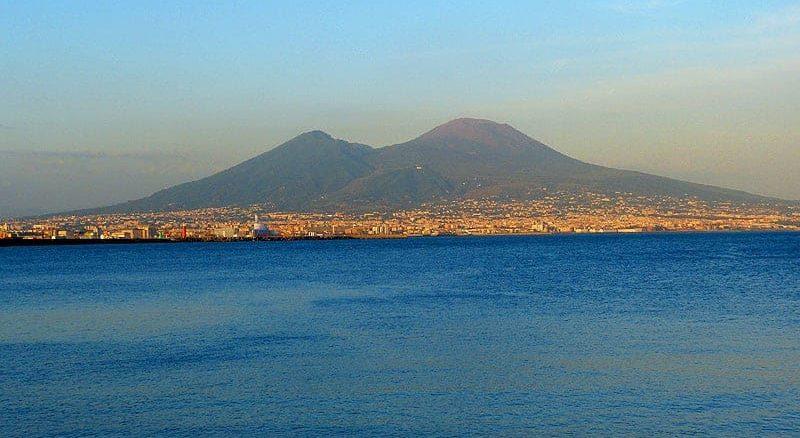 Vesuv am Abend