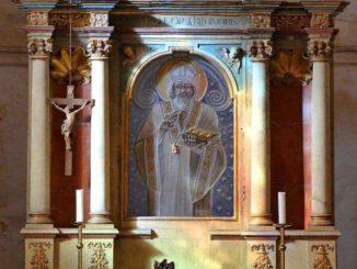 Altar Kirche Petrovice
