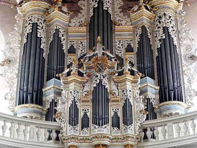 Hildebrandtorgel in der Wenzelskirche