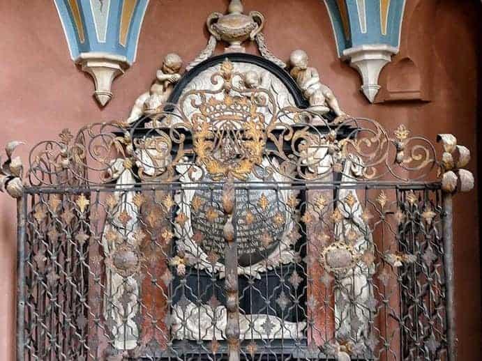Grabmal in der Wenzelskirche Naumburg