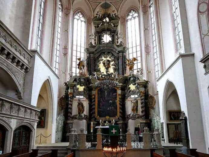 Der Altar der Wenzelskirche Naumburg